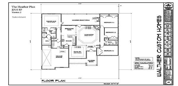 Walther Custom Homes Customizable Floor Plans